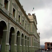 Photo taken at Palacio Municipal by Sayaka G. on 1/23/2013