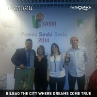 Photo taken at Gran Casino Bilbao by Humberto Pavel N. on 11/30/2014