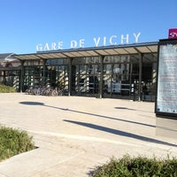 Photo taken at Gare SNCF de Vichy by Weini L. on 2/19/2013