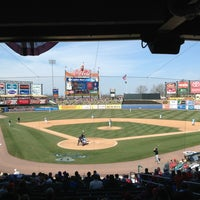 Photo taken at Coca-Cola Park by Ashley H. on 4/7/2013