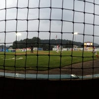 Photo taken at Williamsport Crosscutters by Ashley H. on 7/27/2013