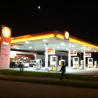 Photo taken at Shell by Daniel Felipe on 1/19/2013