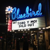 Photo taken at Bluebird Theater by Joshua S. on 2/24/2013