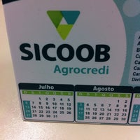 Photo taken at Sicoob Agrocredi by Leandro R. on 7/8/2014