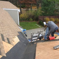 Photo taken at Three Brothers Roofing Contractors & Flat Roof Repair NJ by Jose J. on 11/23/2016