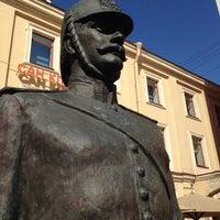 Photo taken at Памятник Городовому by Semen K. on 8/5/2014