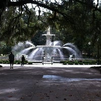 Photo taken at Forsyth Park by Jill on 11/11/2012
