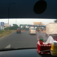 Photo taken at Gerbang Tol Cibitung by Adi M. on 8/29/2013