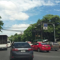 Photo taken at Yommarat Intersection by kwang S. on 8/9/2017