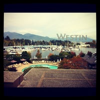 Photo taken at The Westin Bayshore, Vancouver by Trad B. on 9/23/2012