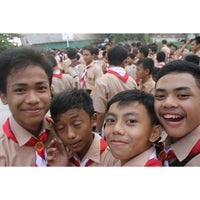 Photo taken at ADZKIA Integrated islamic school by Gemintang A. on 10/13/2014