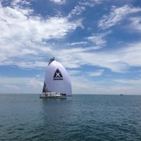 Photo taken at Yomovo Sailing Club by Zina on 9/16/2013