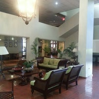 Photo taken at Hotel Santo Domingo by Fernando Q. on 8/1/2013