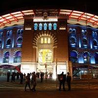 Photo taken at Arenas de Barcelona by Xavi O. on 3/31/2013