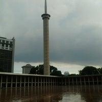 Photo taken at Masjid Istiqlal by Mahendra V. on 12/29/2012