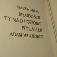 Photo taken at Gimnazjum nr 2 by Arie V. on 9/6/2016