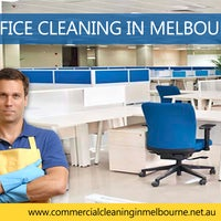 Photo taken at Commercial Office Cleaning Services Melbourne by CEM Y. on 3/29/2017