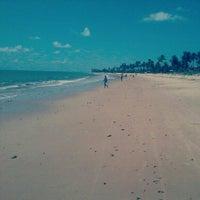 Photo taken at Praia Azul by Thyago N. on 1/24/2013