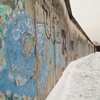 Photo taken at Berlin Wall Memorial by Omar A. on 1/14/2013