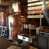 Photo taken at Carolina Brewery by Rob on 4/10/2013
