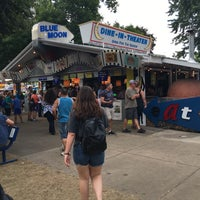 Photo taken at Blue Moon Dine-In Theater - MN State Fair by Tonya D. on 9/4/2016