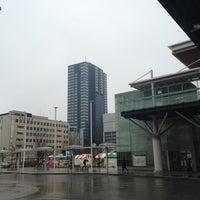 Photo taken at 新潟駅南口バスターミナル by Toshiyuki N. on 3/31/2013
