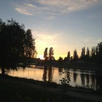 Снимок сделан в Русанівський парк пользователем Maria G. 5/24/2013