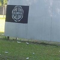 Photo taken at Club Olimpia (Estadio) by Diana A. on 3/12/2018