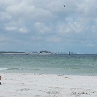 Photo taken at Caladesi Island State Park by AJ S. on 6/1/2013