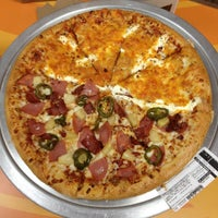 Photo taken at Domino's Pizza by Fel O. on 2/23/2013