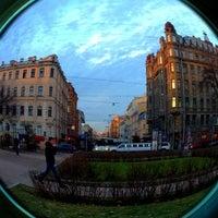 Снимок сделан в Площадь Тургенева пользователем Max I. 11/10/2012