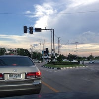 Photo taken at Kaset-Sena Nikhom Intersection by Vichaya Y. on 10/20/2013
