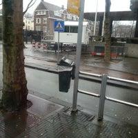 Photo taken at Tramhalte Korte Voorhout by asbeau on 12/24/2012