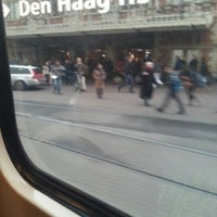Photo taken at Tramhalte Station Hollands Spoor by asbeau on 11/26/2012