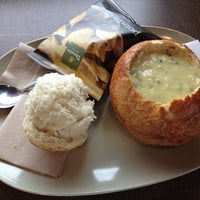 Photo taken at Panera Bread by Lauren W. on 10/28/2012