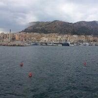 Photo taken at Porto di Porticello by Nick O. on 10/8/2013