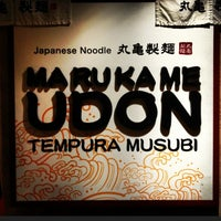 Photo taken at Marukame Udon by Clark on 10/25/2012