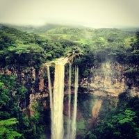 Photo taken at Chamarel Waterfall by Nikolay T. on 4/15/2013