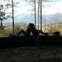 Photo taken at Kurpark by Zeynep ♡ on 3/30/2014