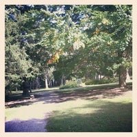 Photo taken at Kurpark by Zeynep ♡ on 9/23/2012