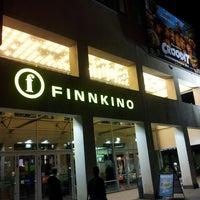 Photo taken at Finnkino Tennispalatsi by Erika S. on 3/23/2013