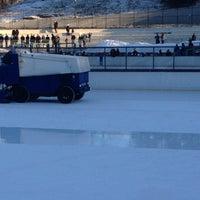 Photo taken at Lasker Pool & Ice Rink by Julia on 1/26/2013