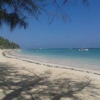 Photo taken at Playa Los Corales by Hypatia M. on 9/23/2012