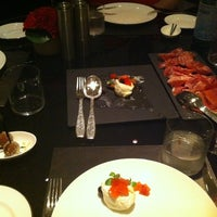 Photo taken at Armani/Ristorante by User_Busy on 10/12/2012