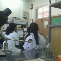 Photo taken at Dept Of Biotechnology by Sharavati T. on 9/25/2012