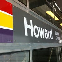 Photo taken at CTA - Howard by Bill A. on 11/3/2012