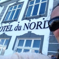 Photo taken at Hotel Du Nord by Marie A. on 7/25/2013