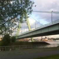 Photo taken at Severinsbrücke by martin p. on 6/5/2013