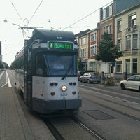 Photo taken at Tram 4 | Gent UZ > Gentbrugge Moscou by Jonathan M. on 6/22/2013