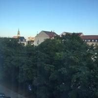 Das Foto wurde bei Park Inn by Radisson Dresden von Okay D. am 8/24/2016 aufgenommen